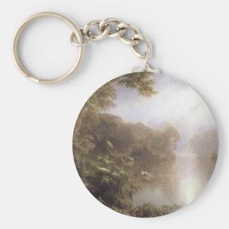 Frederic Edwin Church - Morning in the tropics Key Chain