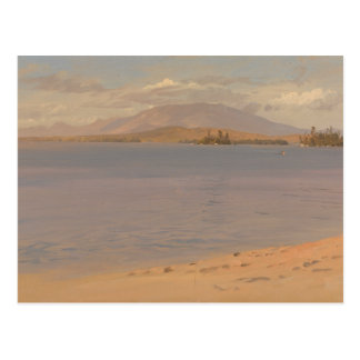Frederic Edwin Church - Mount Katahdin from Lake Postcard