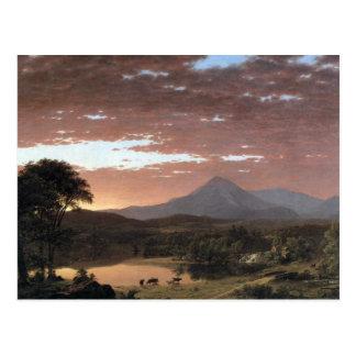 Frederic Edwin Church - Mount Ktaadn (Katahdin) Postcard