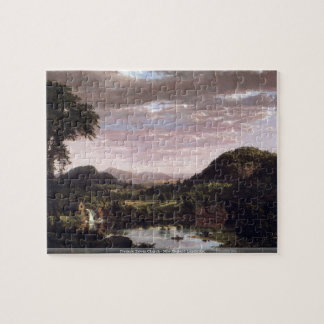 Frederic Edwin Church - New England Landscape puzz Puzzles