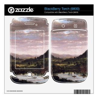 Frederic Edwin Church - New England Landscape BlackBerry Torch Skins