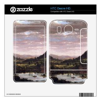 Frederic Edwin Church - New England Landscape HTC Desire HD Skins