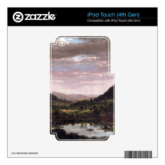 Frederic Edwin Church - New England Landscape Skins For iPod Touch 4G