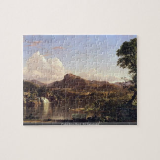 Frederic Edwin Church - New England scene puzzle