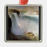 Frederic Edwin Church - Niagara Falls from the Ame Ornaments