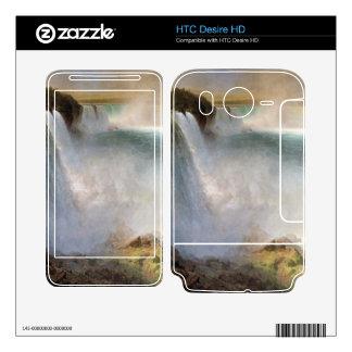 Frederic Edwin Church - Niagara Falls from the Ame HTC Desire HD Skins