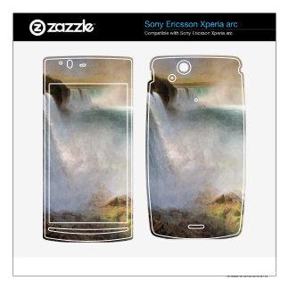 Frederic Edwin Church - Niagara Falls from the Ame Xperia Arc Skins