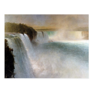 Frederic Edwin Church: Niagara Falls, From the USA Postcard