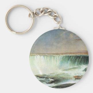 Frederic Edwin Church - Niagara Falls Keychains