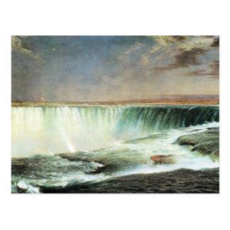 Frederic Edwin Church - Niagara Falls Postcard