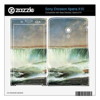 Frederic Edwin Church - Niagara Falls Xperia X10 Mini Pro Skins