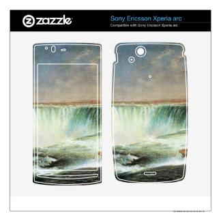 Frederic Edwin Church - Niagara Falls Xperia Arc Skins