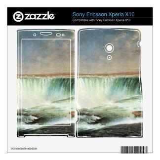 Frederic Edwin Church - Niagara Falls Xperia X10 Mini Pro Skin