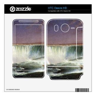 Frederic Edwin Church - Niagara Skin For HTC Desire HD