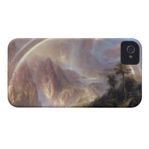 Frederic Edwin Church - Rainy season in the tropic iPhone 4 Case