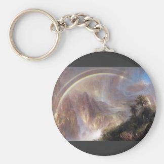Frederic Edwin Church - Rainy season in the tropic Keychain