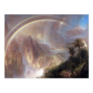 Frederic Edwin Church - Rainy season in the tropic Post Card