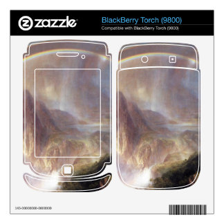 Frederic Edwin Church - Rainy season in the tropic BlackBerry Torch Decal