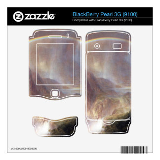 Frederic Edwin Church - Rainy season in the tropic Skin For BlackBerry Pearl