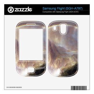 Frederic Edwin Church - Rainy season in the tropic Samsung Flight Decal
