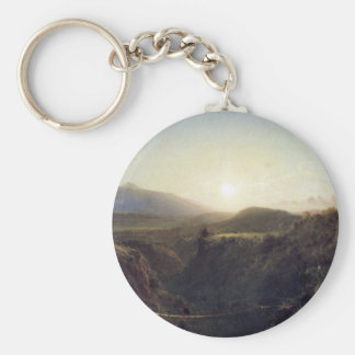 Frederic Edwin Church - Scene in the Andes Key Chain