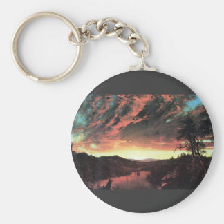 Frederic Edwin Church - Secluded landscape in the Key Chain