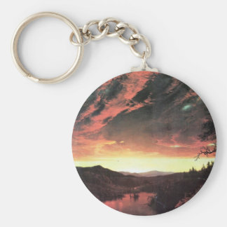 Frederic Edwin Church - Secluded landscape in the Keychains