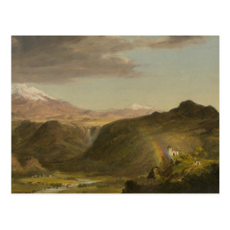 Frederic Edwin Church - South American Landscape Postcard