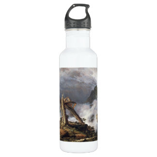 Frederic Edwin Church - Storm in the Mountains 24oz Water Bottle