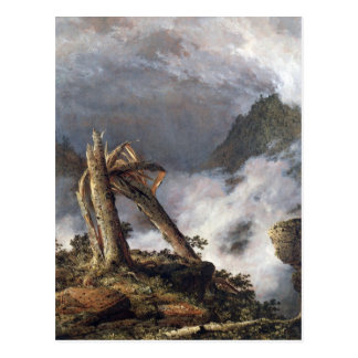 Frederic Edwin Church - Storm in the Mountains Postcard