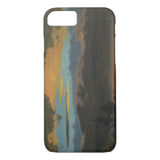 Frederic Edwin Church - Sunset Across the Hudson iPhone 7 Case