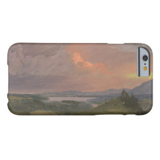 Frederic Edwin Church -Sunset in the Hudson Valley Barely There iPhone 6 Case