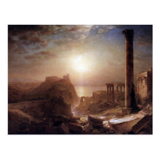 Frederic Edwin Church - Syria on the sea Postcard