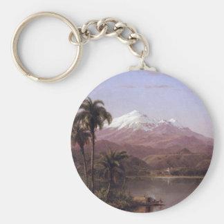 Frederic Edwin Church - Tamaca palms Key Chains