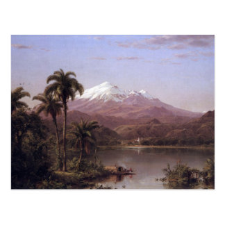 Frederic Edwin Church - Tamaca palms Post Cards