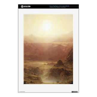 Frederic Edwin Church - The Andes of Ecuador Detai Skin For PS3 Console