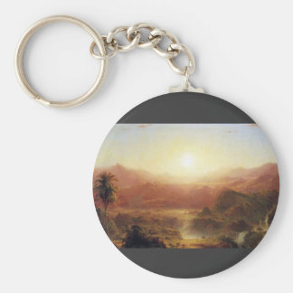 Frederic Edwin Church - The Andes of Ecuador Keychains