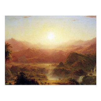 Frederic Edwin Church - The Andes of Ecuador Postcard