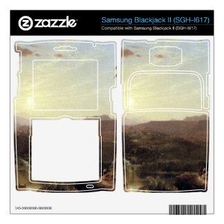 Frederic Edwin Church - The Cordilleras - Sunrise Samsung Blackjack II Skin