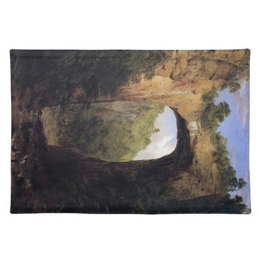 Frederic Edwin Church - The Natural Bridge Virgini Place Mats