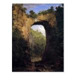 Frederic Edwin Church - The Natural Bridge Virgini Postcard