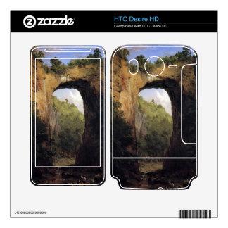 Frederic Edwin Church - The Natural Bridge Virgini HTC Desire HD Skins