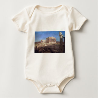 Frederic Edwin Church - The Parthenon Baby Bodysuit
