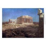 Frederic Edwin Church - The Parthenon Card