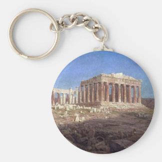Frederic Edwin Church - The Parthenon Keychains