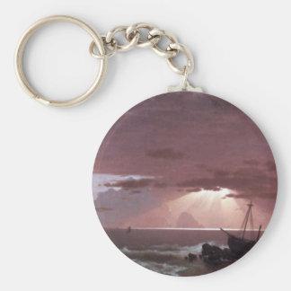 Frederic Edwin Church - The wreck Key Chain