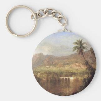 Frederic Edwin Church - Tropical Scene Keychains