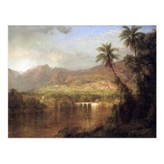Frederic Edwin Church - Tropical Scene Postcards