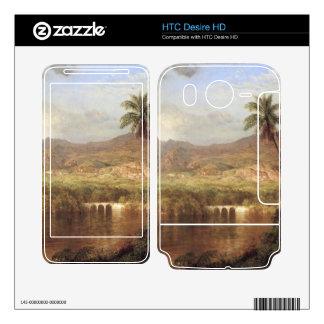 Frederic Edwin Church - Tropical Scene HTC Desire HD Skins