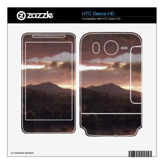 Frederic Edwin Church - Twilight (Catskill Mountai Skin For HTC Desire HD